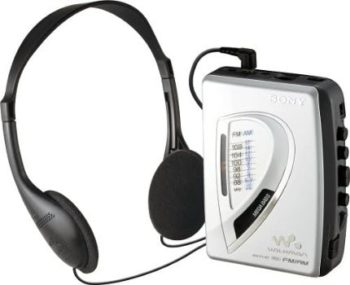 4. Sony WM-FX197 AM FM Cassette Walkman