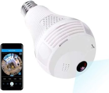 5. 1080P WiFi Security Camera, Wireles IP Led Cam