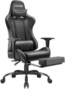 5. Homall Ergonomic Desk Chair with Footrest