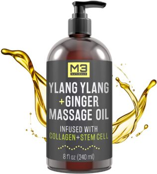 5. M3 Naturals Ylang Ylang and Ginger Sexy Oil Massages