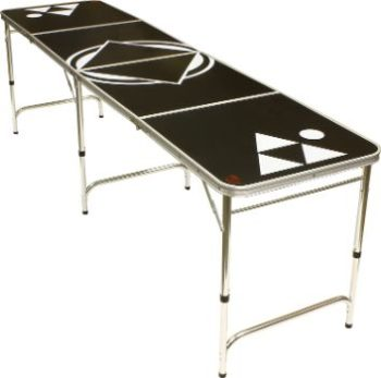 #5. Red Cup Pong 8' Beer Pong Table