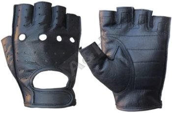 6. A&H Apparel Leather Motorcycle Gloves