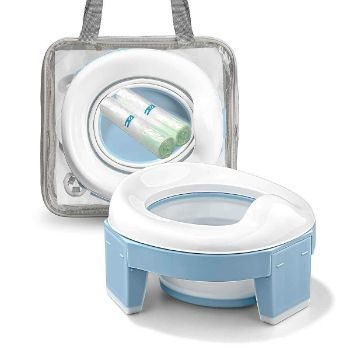 #6. MCGMITT Portable Potty Training Seat for Toddler Kids