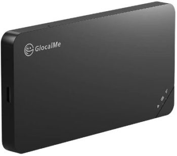 #7. GlocalMe U3 Black Portable WiFi