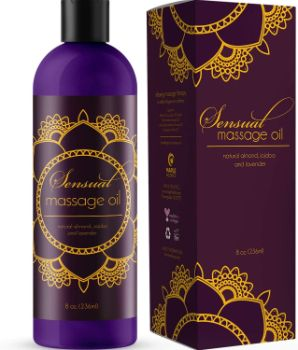 7. Maple Holistics Sensual Massage Oil