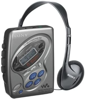 7. Sony WM-FX281 Cassette Walkman