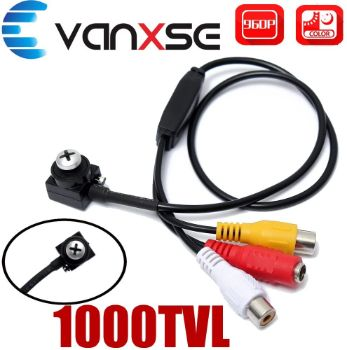 7. Vanxse CCTV Hd Mini Spy Pinhole Security Camera