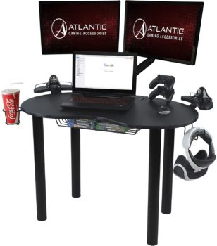 8. Atlantic Gaming Original Gaming Desk – Eclipse