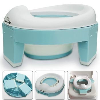 #8. BlueSnail 3-in-1 Go Potty for Travel