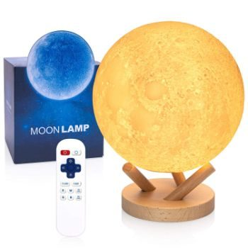 8. Moon Lamp, Sliding Control Moon Light