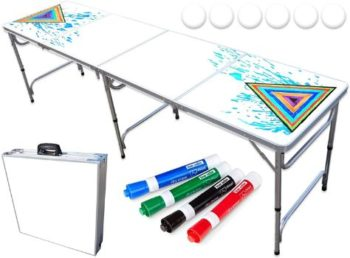 #8. PartyPongTables.com 8-Foot Beer Pong Table