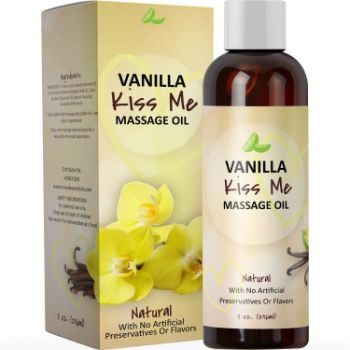 8. Vanilla Erotic Massage Oil for Sex