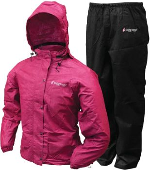 9. FROGG TOGGS Women's Classic Rain Suit