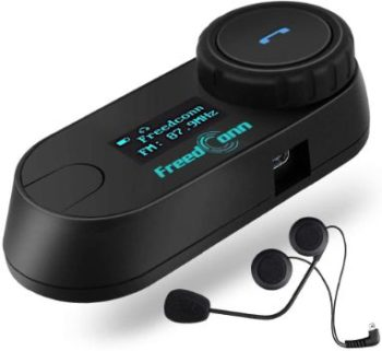 9. FreedConn TCOM-SC Motorcycle Bluetooth Headset