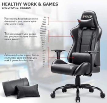 9. Homall High Back Gaming Office Chair