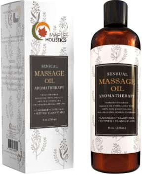 9. Sensual Massage Oil for Men & Women
