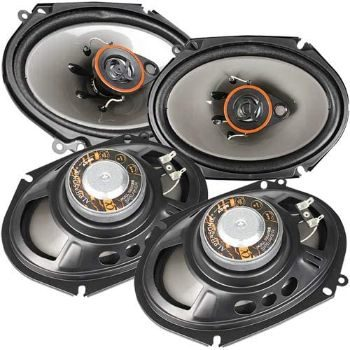 1. Alphasonik AS68 6x8 inch 3-Way Car Audio Coaxial Speakers