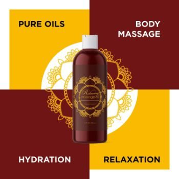 1. Relaxing Massage Oil for Couples Gifts - Aromatherapy Oils