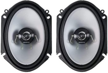 2. Kenwood KFC C6866S 6x8 2 Way Car Stereo Speakers