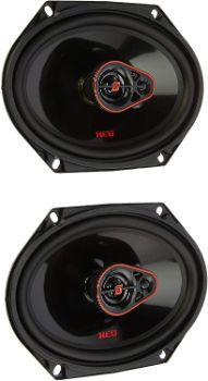 3. CERWIN-Vega 3-Way Coaxial Speakers