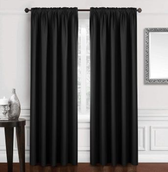 3. Dreaming Casa Solid Blackout Curtain