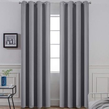 4. Yakamok 96 Inches Thermal Curtain Panels