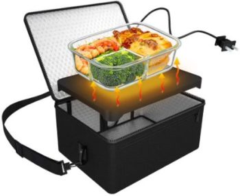 10. 110V Portable Food Warmer (Black)