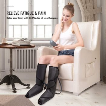 8. FIT KING Leg Air Massager for Circulation and Relaxation
