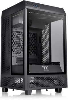 5. Thermaltake Tower 100 Mini Tower Computer Chassis
