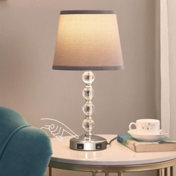 5. USB Touch Bedside Lamp