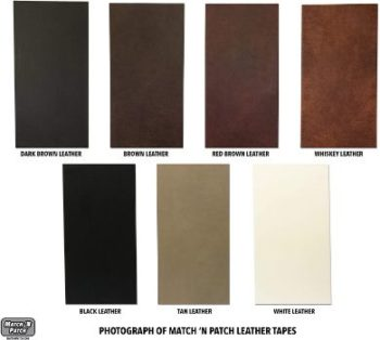 6. Match 'N Patch Leather Repair Tape